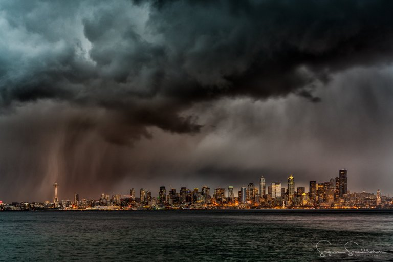 Storm clouds make for dramatic photos around the Northwest